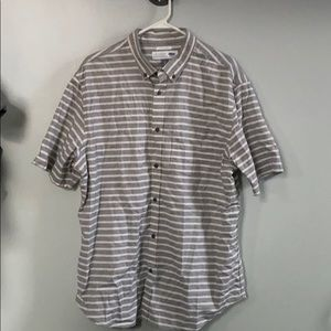 Old Navy Striped Button Down